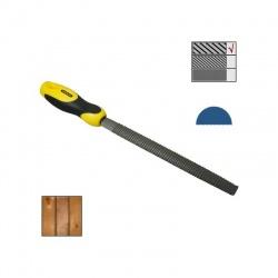 """0-22-470 Ράσπα ημιστρόγγυλη χονδρό δόντι 250mm (10"""")"""