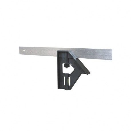 Stanley 2-46-017 Combination square with level - 30cm