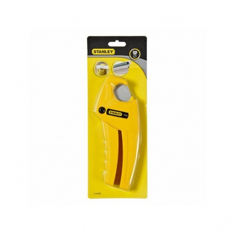 Stanley 0-70-450 Plastic Pipe Cutter - 28mm