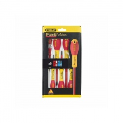 Stanley 0-65-443 FatMax 6 pcs 1000V Insulated Screwdriver Set