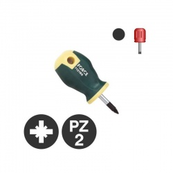 7122BS - Pozidriv Stubby Screwdriver PZ2 x 25mm