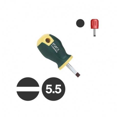 Force 713055BS - Κατσαβίδι Νάνος Ίσιος 5.5 x 25mm