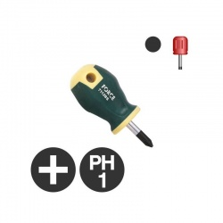 7111BS - Philips Stubby Screwdriver PH1 x 25mm