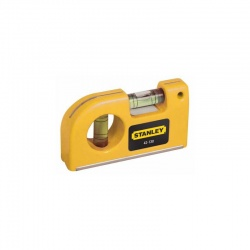 Stanley 0-42-130 Magnetic Pocket Level 85mm