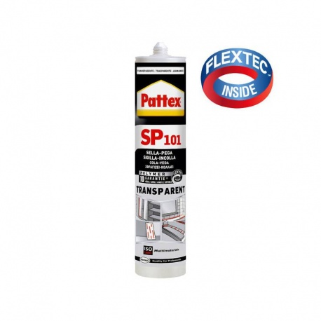 Henkel Pattex SP101 Elastic Sealant 300ml Clear