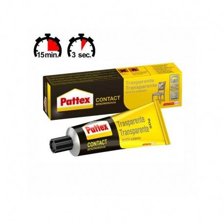 Henkel Pattex PCT3S Contact Διαφανής Βενζινόκολλα Σωληνάριο 50g
