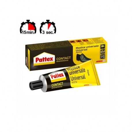 Henkel Pattex PCL3S Contact Βενζινόκολλα Σωληνάριο 50g