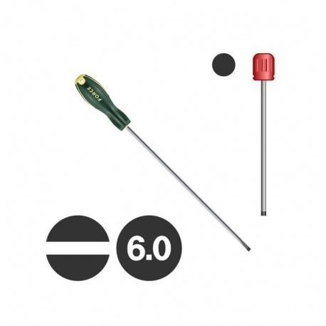 Force 655306 - Κατσαβίδι Ίσιο Μακρύ 6.0 x 300mm