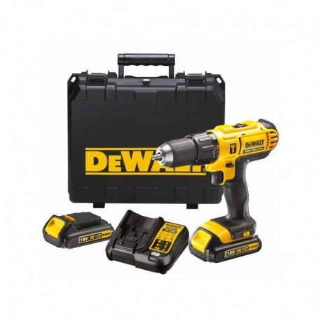 DeWalt DCD776C2 XR Li-Ion 18V Cordless Drill - 2 battery set