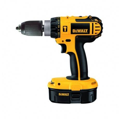 DeWalt DC725KB - Cordless combination drill with 3x 18.0V, 2Ah batteries