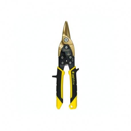 Stanley 0-14-206 FatMax 250mm titanium coated straight aviation snips
