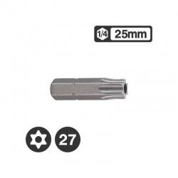 """1272527 - Μύτη Tamper Torx 1/4"""" 25mm - TT27"""