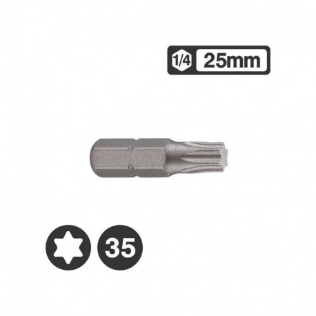 Force 1262535 - Μύτη Torx 1/4″ 25mm - T35
