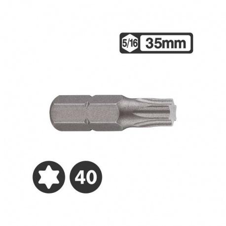 Force 1563540 - Μύτη Torx 5/16″ 35mm - T40