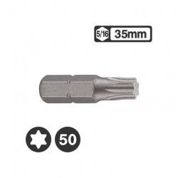 """1563550 - 5/16"""" Star Bit 35mm - T50"""