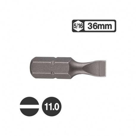 Force 1533611 - Μύτη Ίσια 5/16″ 36mm - 11.0mm