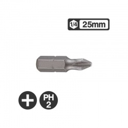 "121252 - 1/4"" Philips Bit 25mm - PH2"
