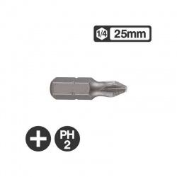 Force 121252 - 1/4″ Philips Bit 25mm - PH2