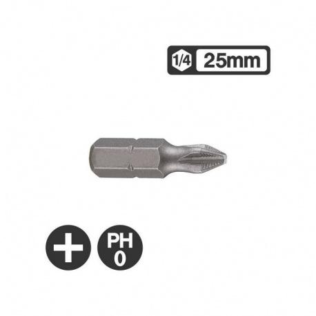Force 121250 - 1/4″ Philips Bit 25mm - PH0