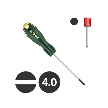 Force 71304 - Slotted Screwdriver 4.0 x 100mm