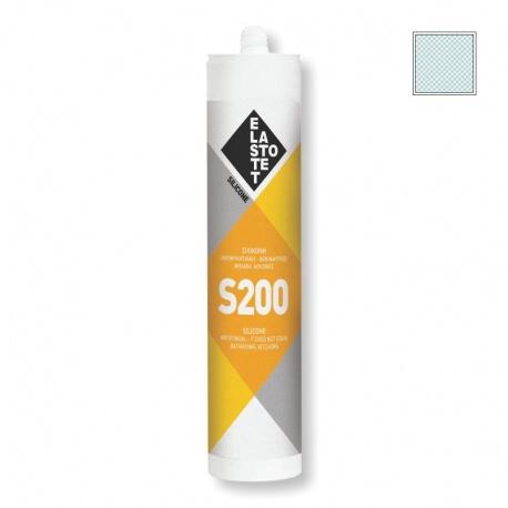 Elastotet S200 Αντιμυκητιακή Σιλικόνη Διαφανής