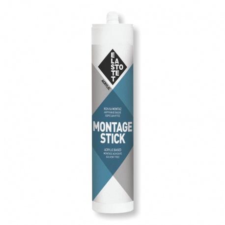 Elastotet Montage-Stick Μονταζόκολλα Ακρυλικής Βάσης 280ml