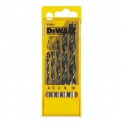 DeWalt DT4535 Wood Drill Bits 5 pcs set 4-10mm