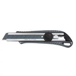 L-32 Snap-Off Blade Knife 18mm with Metalic Body