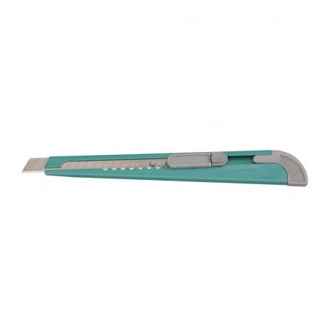 KDS S-13GR Dura-Slim snap-off blade knife 9mm - green