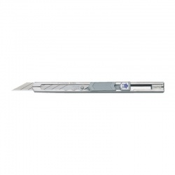 S-18 Slim-Trim Snap-Off Stainless Cutter with Sharp Angle 30° - 9mm Blade