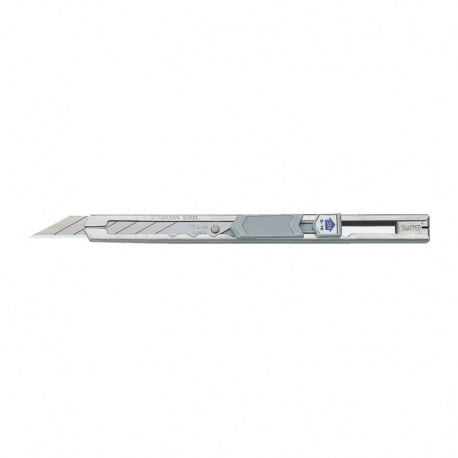 KDS S-18 Slim-Trim snap-off stainless cutter with sharp angle (30°) 9mm blade