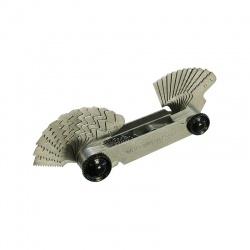 Luckhaus Thread Pitch Gauge Whitworth/Metric 48 Blades