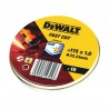 DT3506 Δίσκοι Κοπής Inox WA60TBF 1.0 x 115mm - 10 τεμ.