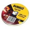 DT3507 Δίσκοι Κοπής Inox WA60TBF 1.0 x 125mm - 10 τεμ.