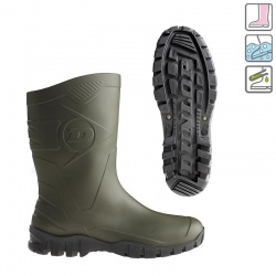 Dunlop Dee Calf Green Waterproof Boots