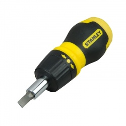 Stanley 0-66-358 Multibit ratchet stubby screwdriver