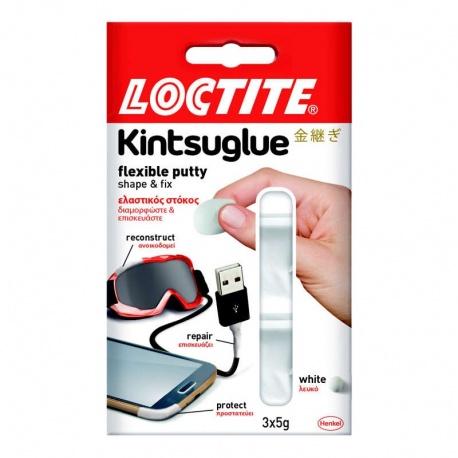 Loctite Kintsuglue Ελαστικός Στόκος 3x5g Λευκός