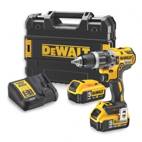 DeWalt DCD796P2 Brushless Li-Ion 18V 5Ah XR Cordless Hammer Drill Driver