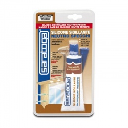 Neutral Silicone Sealant for Mirrors 60ml