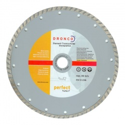 DRONCO - Perfect Turbo F Diamond Cutting Disc - 230mm