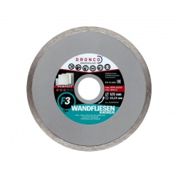 Dronco Perfect F3 Tile cutting disc - 125mm