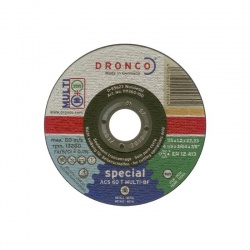 ACS 60 T MULTI-BF Δίσκος Κοπής Πολλαπλών Υλικών 1.2 x 115mm