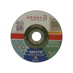 ACS 60 T MULTI-BF Δίσκος Κοπής Πολλαπλών Υλικών 1.2 x 125mm