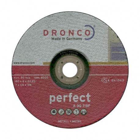 Dronco δίσκος λειάνσεως μετάλλου A 30 T-BF 6.0 x 180mm