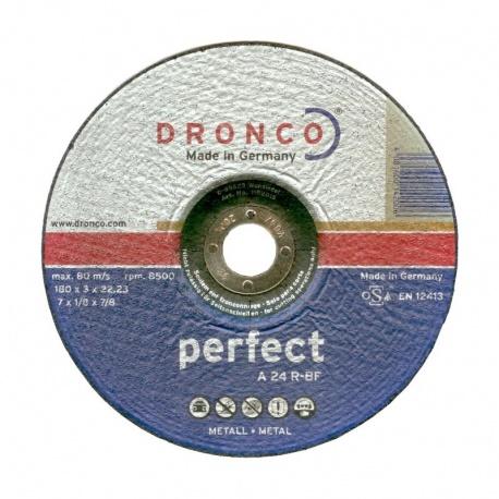 Dronco δίσκος κοπής μετάλλου A 24 R-BF 3.0 x 180mm