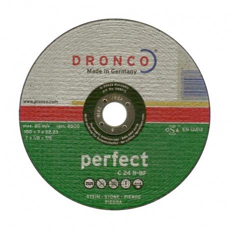 Dronco δίσκος πέτρας-μαρμάρου C 24 R-BF 3.0 x 180mm