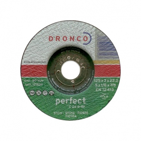 Dronco stone cutting disc C 24 R-BF 3.0 x 125mm