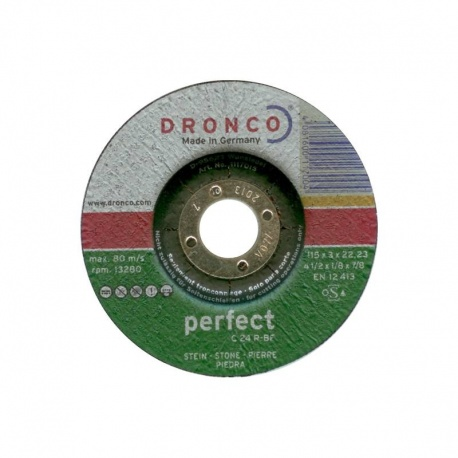 Dronco δίσκος πέτρας-μαρμάρου C 24 R-BF 3.0 x 115mm