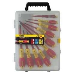 0-62-573 FatMax 10 pcs 1000V Insulated Screwdriver Set