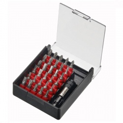 Force 2313 screwdriver set with bits and holder - 31 pcs